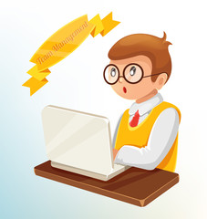 Vector Employment Concept Flat Style