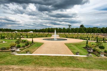 Privy Garden at Hampton Court Palace near London