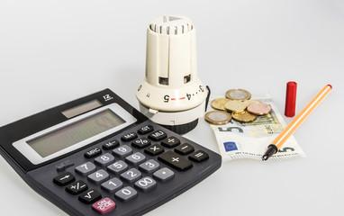 Thermostat und Taschenrechner
