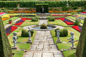 Sunken Garden at Hampton Court Palace, UK