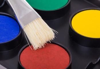 water paint palette