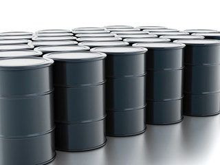 Crude oil drums