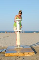 lavapies de playa