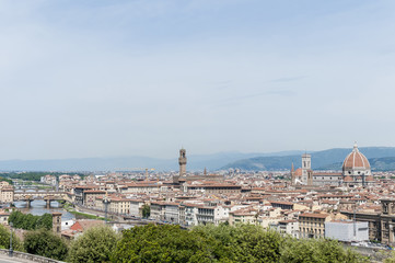 Florence's as seen from Piazzale Michelangelo, Italy