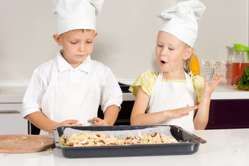 Little Cute Chefs Made Delicious Food