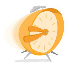 Hurried alarm clock