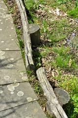 Wege im Garten