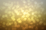 abstract golden background with glitter lights and gradient colo