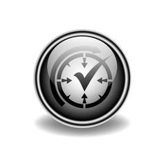 логотип часы