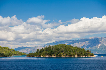 The Skorpios island in Nidri Lefkada