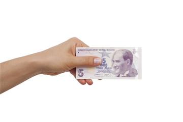 elde beş lira