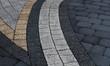 pattern on the pavement - 68696590