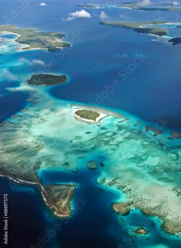 Leinwanddruck Bild Pacific Islands