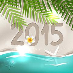 2015 New Year postcard