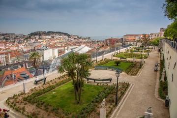 Lisbonne : Jardim de São Pedro de Alcântara