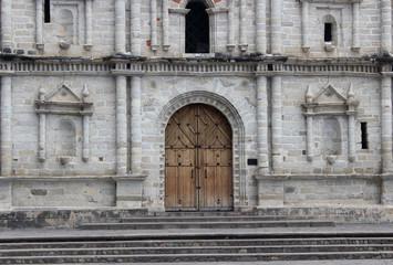 Fachada de iglesia católica