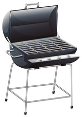 A grilling device