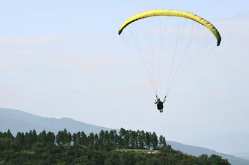 Parapente en cerro San Javier, Tucuman