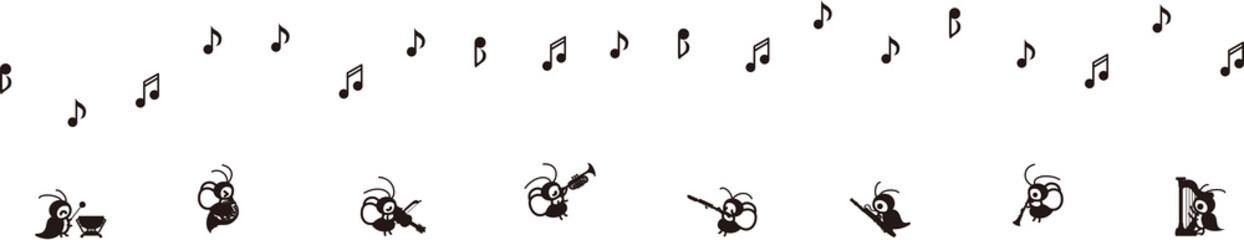 コオロギによる、秋のコンサート