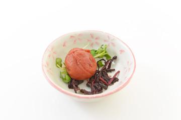 日本伝統食品の梅干