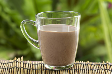 Fresh chocolate Milk