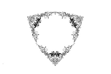 Victorian triangle frame