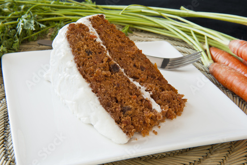 Carrot Cake with Fresh Carrots