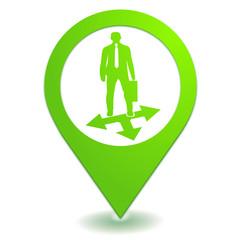 coaching sur symbole localisation vert