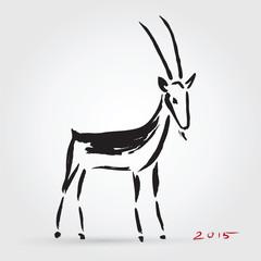Goat 2015, New year Symbol.