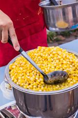 Boiled corns