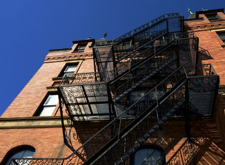 Old Fashon Fire Escape