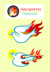 Holy spirit icon
