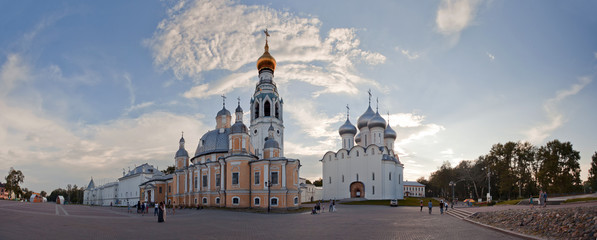 Panorama of the Vologda Kremlin