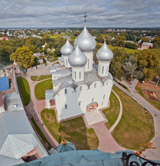Vologda panorama from bell-tower