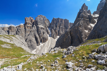 Dolomiti - Piz da Lech and Mezdi valley
