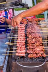 grilled porks
