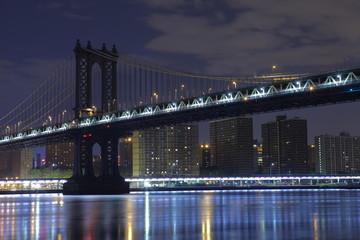 Brooklyn Bridge . Manhattan. New York. United States of America