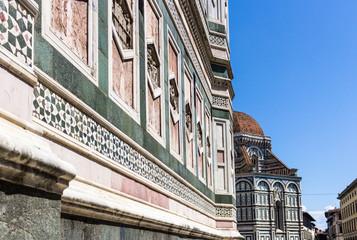 Firenze, particolare torre di Giotto