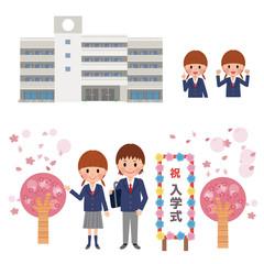 入学 入学式