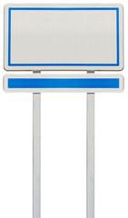 panneau rectangulaire signalisation