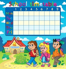 School timetable composition 5