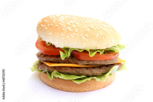 canvas print picture burger