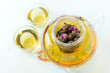 Flower herbal pot tea