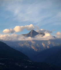 Cime couronnée du Monte Zucchero.