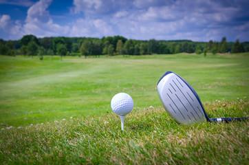 Golf game concept