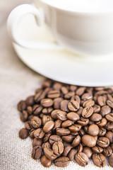 Café en granos .