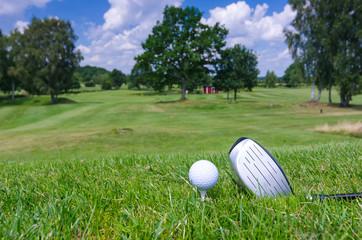 Swedish golf course concept
