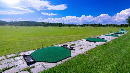 Long range training golf course