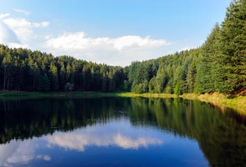 Lago morenico di Meugliano dell'Era Glaciale - Piemonte