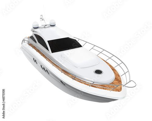 White Pleasure Yacht - 68715108